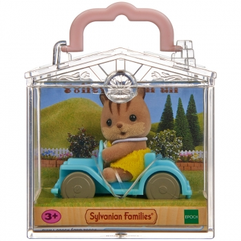 Baby Carry Case (Squirrel on Car)