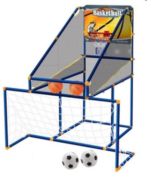 2 in 1 Basketball & Football Game