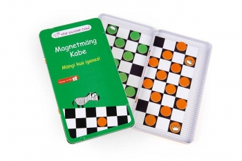 Magnetic Travel: Checkers
