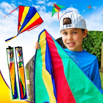 Sky Zone Fly On Kite, assorted colors
