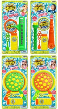 Miracle Bubbles, assorted