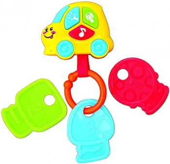 Baby Toddler Car Shaped Key Chain