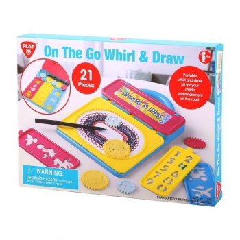 On The Go Whirl & Draw Playset