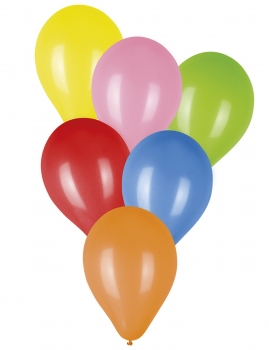 50 Multicolored Balloons