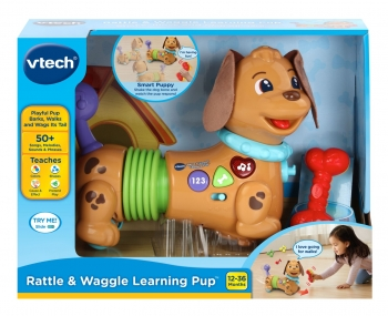 Rattle & Waggle Learning Pup