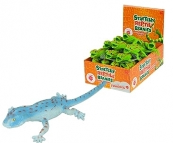 Fumfings Stretchy Beanie Gecko Assorted