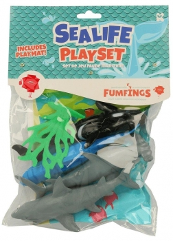 Fumfings Large Animal Pack Sealife Assortted