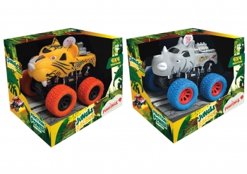 Jungle Racers Safari Friction 4x4 Truck with Sound
