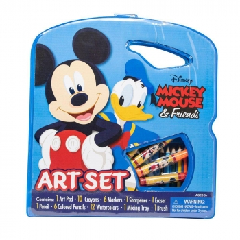 Disney Mickey Mouse Character Art Tote