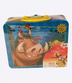 Lion King 24-Piece Puzzle in Tin