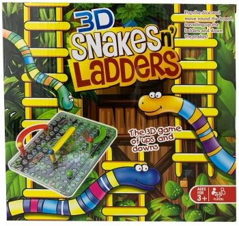 Snakes & Ladders 3D Game