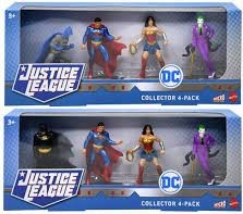 DC Comics Micro Collection 4-Pack Assorted