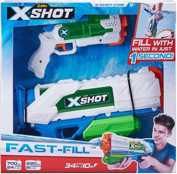 X-SHOT- Fast Fill- Combo Pack- Medium And Small