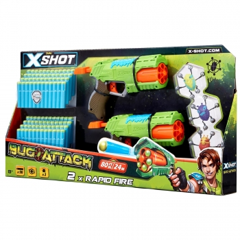 X-Shot Attack Double Rapid Fire