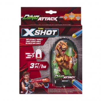 X-Shot Dino Attack-Inflatable Dino Target