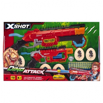 X-Shot Dino Attack Combo Pack Hunter And Eliminator