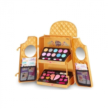 Instaglam Cosmetic Backpack Gold