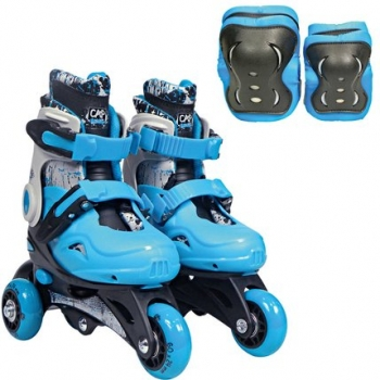 Rollers Evolutifs Avec Protections Taille 27- 30