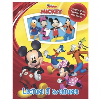 Lecture Et Aventures Mickey Mouse
