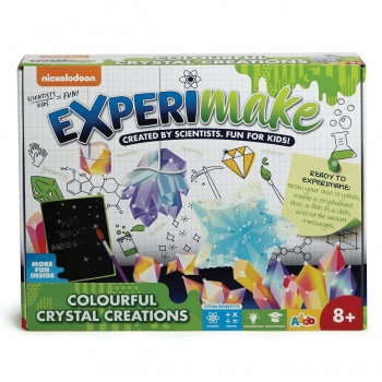 Experimake Colourful Crystal Creations