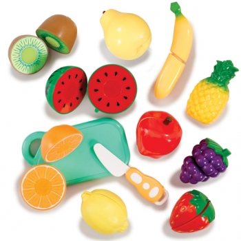 Busy Me - Slice and Play Velcro Fruit Set
