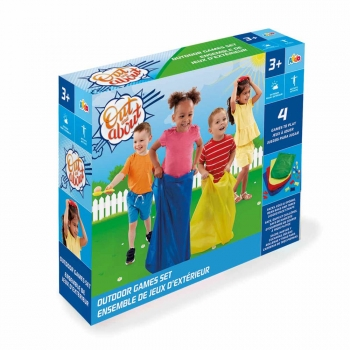 Out And About - 4 in 1 Outdoor Games Set