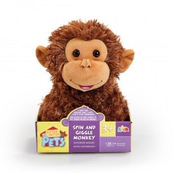 Pitter Patter Pets - Monkey Spin & Laugh