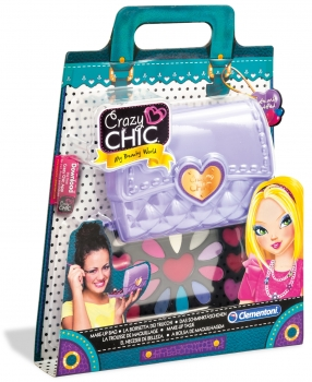 Crazy Chic, Clutch with Trendy Makeup