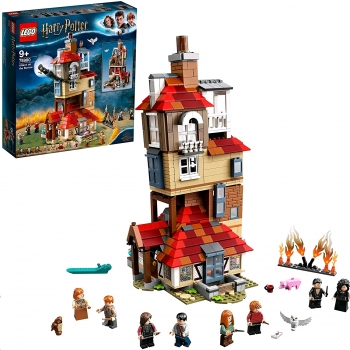 Harry Potter Attack On The Burrow,  1047 pcs