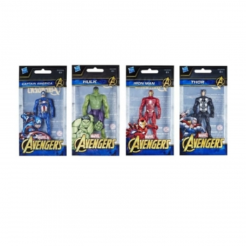 Marvel Avengers 4 Action Figures, Assorted