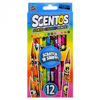 Scented Colored Pencils, Pack of 12
