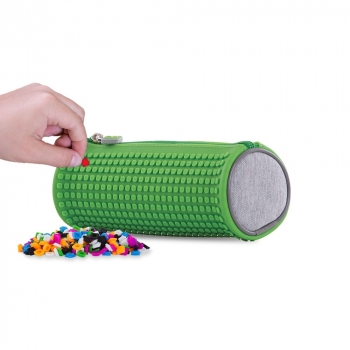 Pixel Rounded Pencil Case