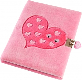 Mallo Snuggly Soft Touch Lockable Journal, A5