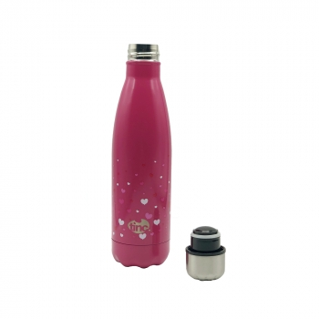 Hearts Hot & Cold Water Bottle, 500ml