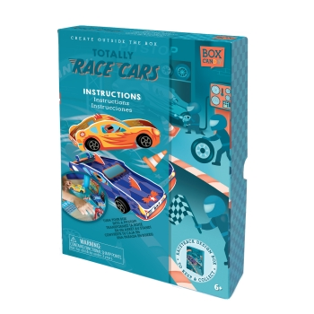 Totally Race Cars Build Your Own Cars