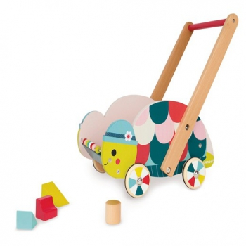 Turtle Trolley and Walker with Blocks