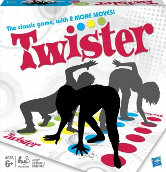 Twister Game, French