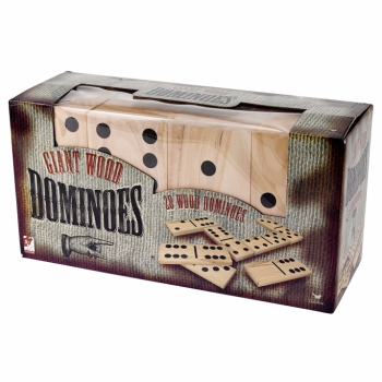 Giant Wood 28pc Dominos