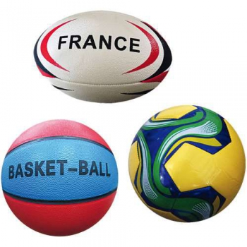 Filet 3 Ballons-Basket/ Foot/ Rugby