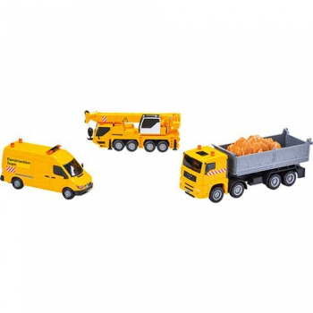 Construction Team of 3 Vehicles