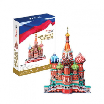 3D Puzzle - St. Basil Cathedral