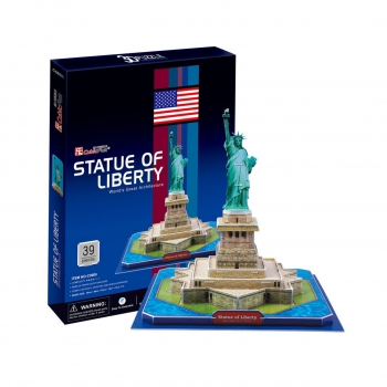 3D Puzzle - Statue of Liberty