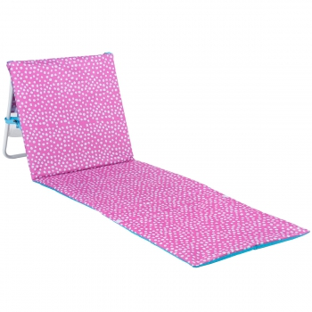 Scattered Pink Dots Lounge Chair Tote