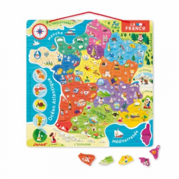 Magnetic France Map - Puzzle