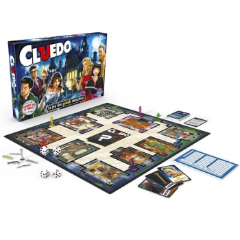 Clue Cluedo The Classic Mystery Game ,French