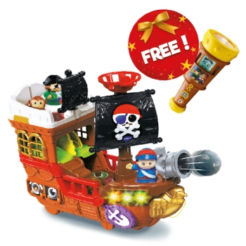 Bundle -Treasure Seekers Pirate Ship French Edition + Vue Magique