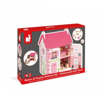 Mademoiselle Dolls House with Furniture