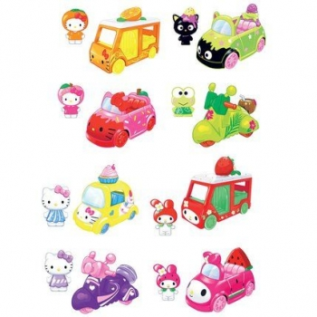 Hello Kitty & Friends - 2 Vehicules