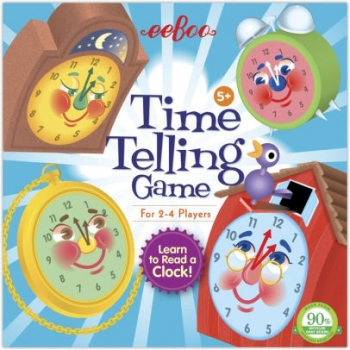 The Telling Time Board Game