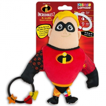 Disney Incredibles Clip And Go Mr. Incredible